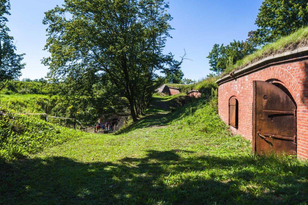 Fort VI - dziedziniec